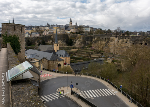 Fridge magnet Photos of Luxembourg city