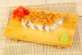 Delicious eel roll - 209777132