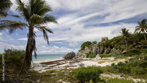 Fotobehang Tropical strand Mexico 2018 IntFrame