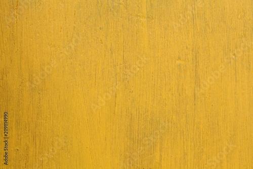 Foto Murales Yellow rustic yellow board