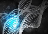 DNA molecules background - 209817714