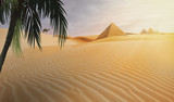 compositing piramid in the egypt desert - 209823398