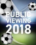 Fliegende Fußbälle - Public Viewing 2018 - 209832583