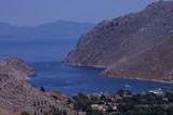 Symi, Grecja - widok na morze - 209847374