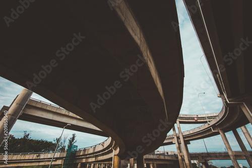 Fototapeta Shah Alam Overpass