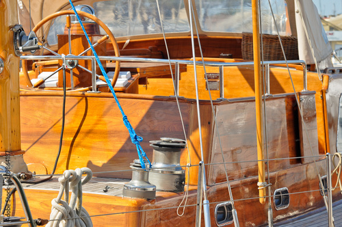 Fotobehang Schip sailboat
