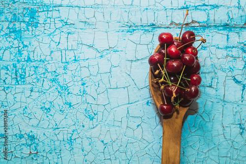Fotobehang Kersen Ripe cherry