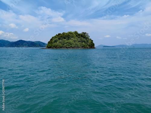 Fotobehang Tropical strand Thailand, Phuket - Island View