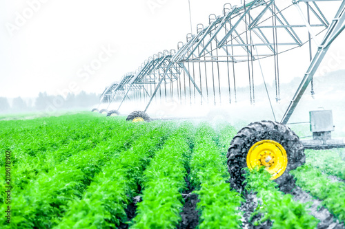 Leinwandbild Motiv  agriculture irrigation machine