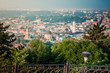 Panoramic view on Lviv from high Castle - 209889548
