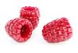 Ripe raspberry berries, 3d rendered raster