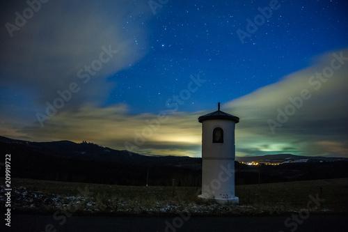 Aluminium Nachtblauw chapel