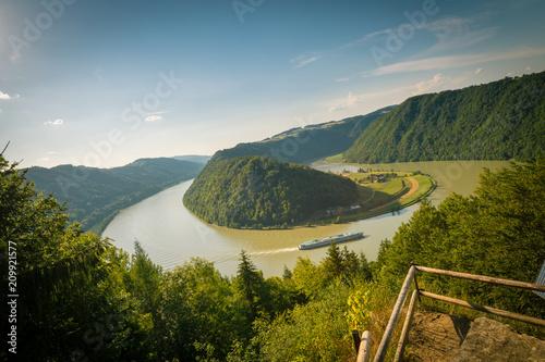 Foto Murales Schlögener Schlinge Donau - Oberösterreich