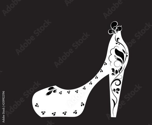 flowers shoe