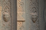 ancient temple angkor cambodia sculpture