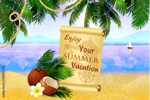 Summer Vacation Of The Search For Treasure
