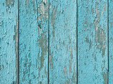 shabby old flaky wooden background. blue damaged crackled paint. weathered worn out surface. copy space concept - 209968325