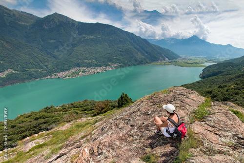 Jezioro Novate Mezzola - Jezioro Como - Włochy