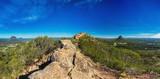 Summit of Mount Ngungun, Glass House Mountains, Sunshine Coast,