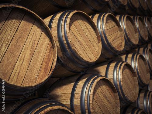Wine barrels - 209991969