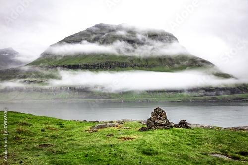view in faroe islands