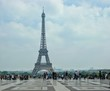 May 23, 2018 Paris, France. Symbol of Framce Eiffel Tower