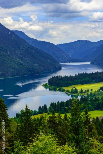 Weissensee i Kärnten