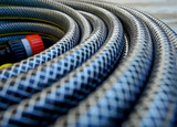 Rubber hoses to irrigate fields cultivated in agriculture.   - 210006520
