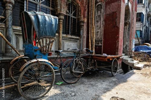 Aluminium Fiets rickshaw