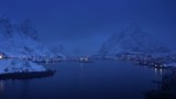 winter Reine Village, Lofoten Islands, Norway - 210013997
