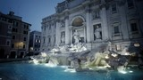Trevi fountain in  Rome - 210014535