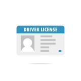 Driver license icon vector - 210023945