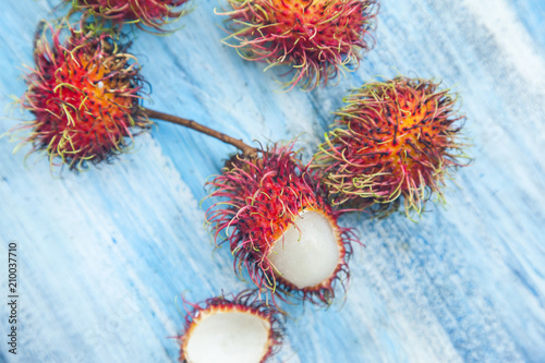 Rambutan Thai fruit - 210037710