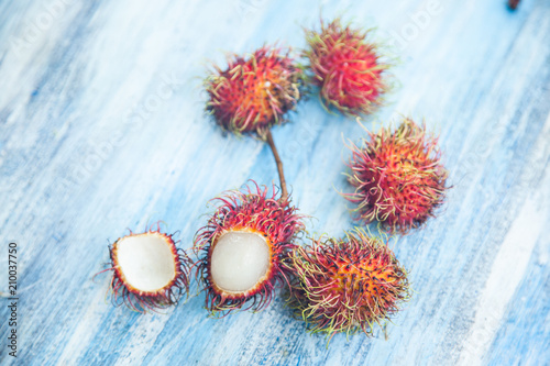 Rambutan Thai fruit - 210037750