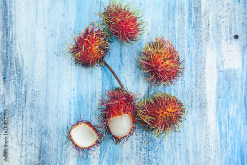 Rambutan Thai fruit - 210037755