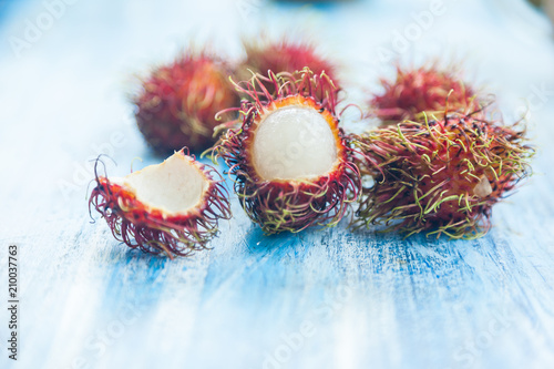 Rambutan Thai fruit - 210037763