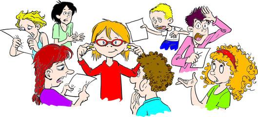 Schularbeit