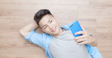 man use phone - 210051310