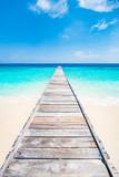 Ruhe und Entspannung am blauen Meer