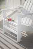 Adirondack chair on a sunny porch - 210056555