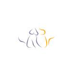 cat dog icon vector - 210064536