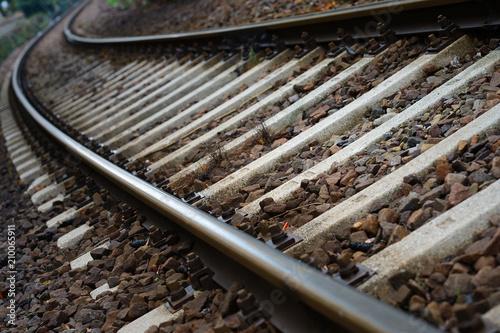 Aluminium Spoorlijn Binari del treno