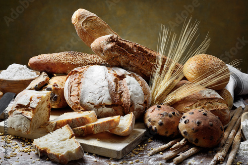 Fototapeta Assorted bread