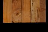 красивые старые рельефные доски на черном фоне                    - 210109392