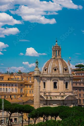 Panorama Rzym Włochy