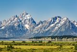 Mountain View in Grand Teton National Park