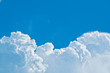 Sunny clouds sky background