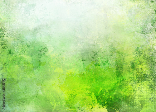 Poster natur abstrakt texturen grüntöne