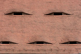 Famous eyes. Windows in the roof made in the form of eyes. - 210162553