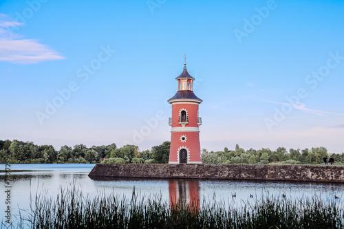 Plexiglas Vuurtoren Leuchtturm in Moritzburg